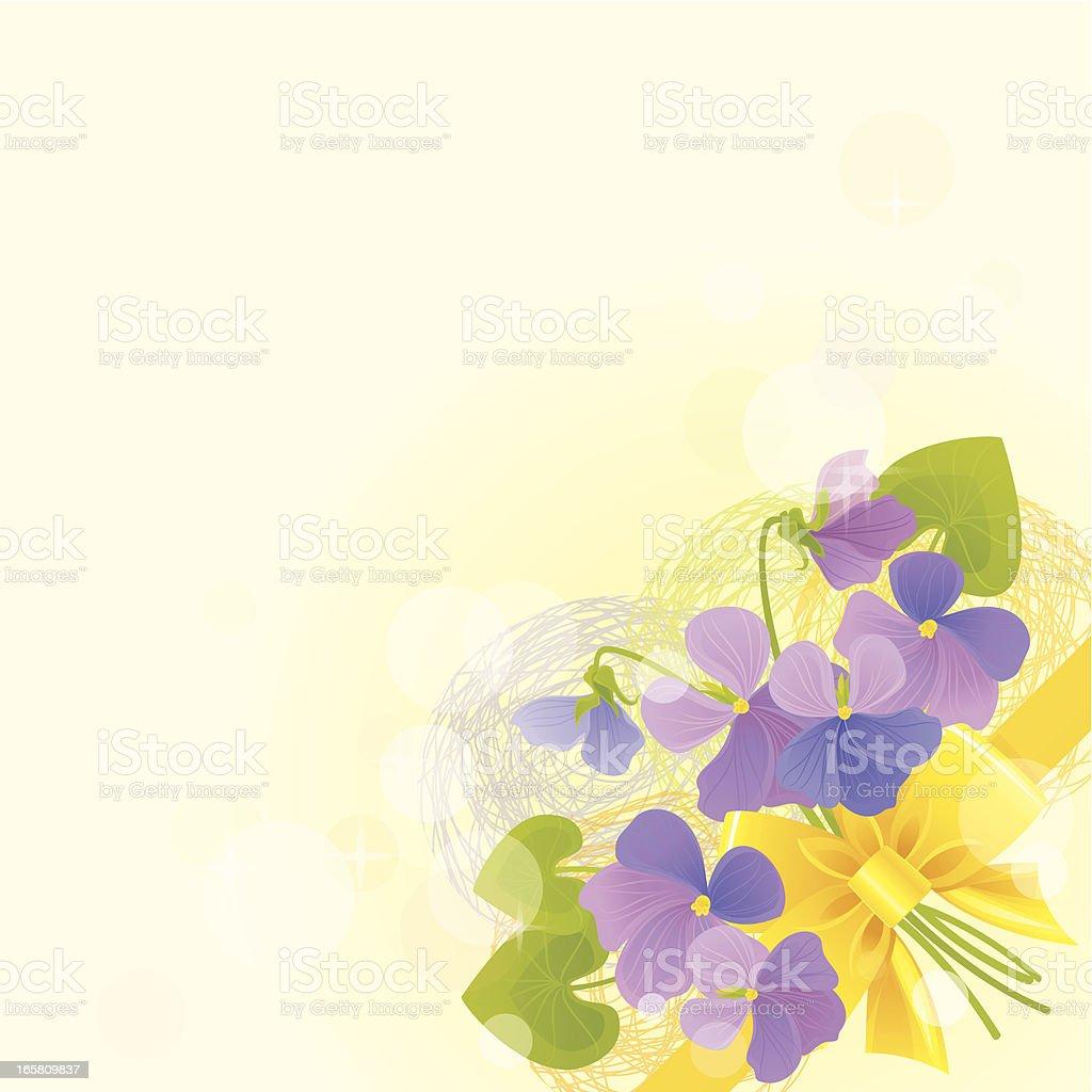 Violas Invitation royalty-free stock vector art