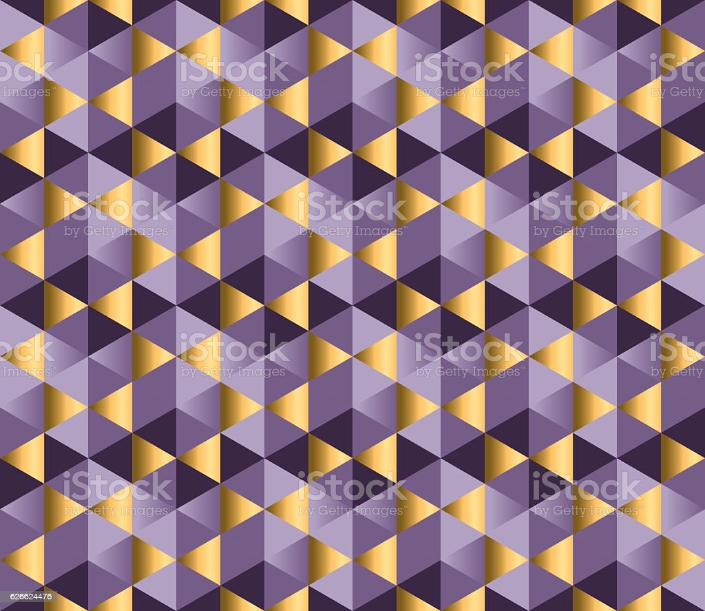 violet color and gold metal texture vector background. vector art illustration