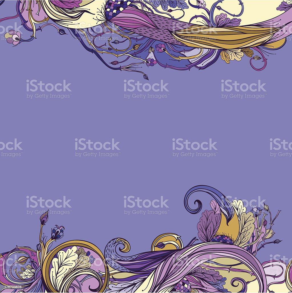 Violet royalty-free stock vector art