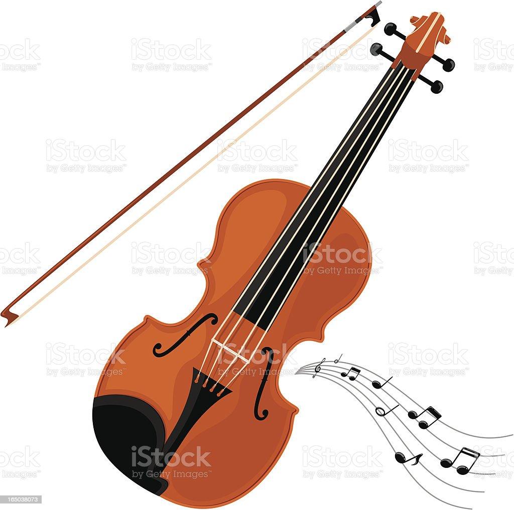 Violin - incl. jpeg vector art illustration