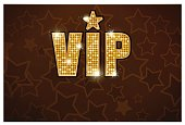 vip gold star black icon