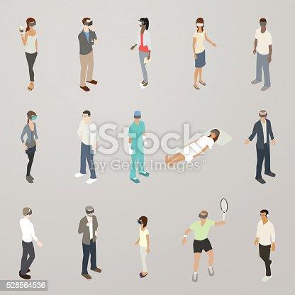 Virtual reality illustration