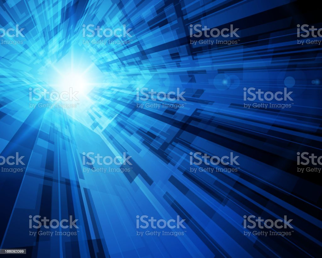 Virtual technology vector background royalty-free stock vector art
