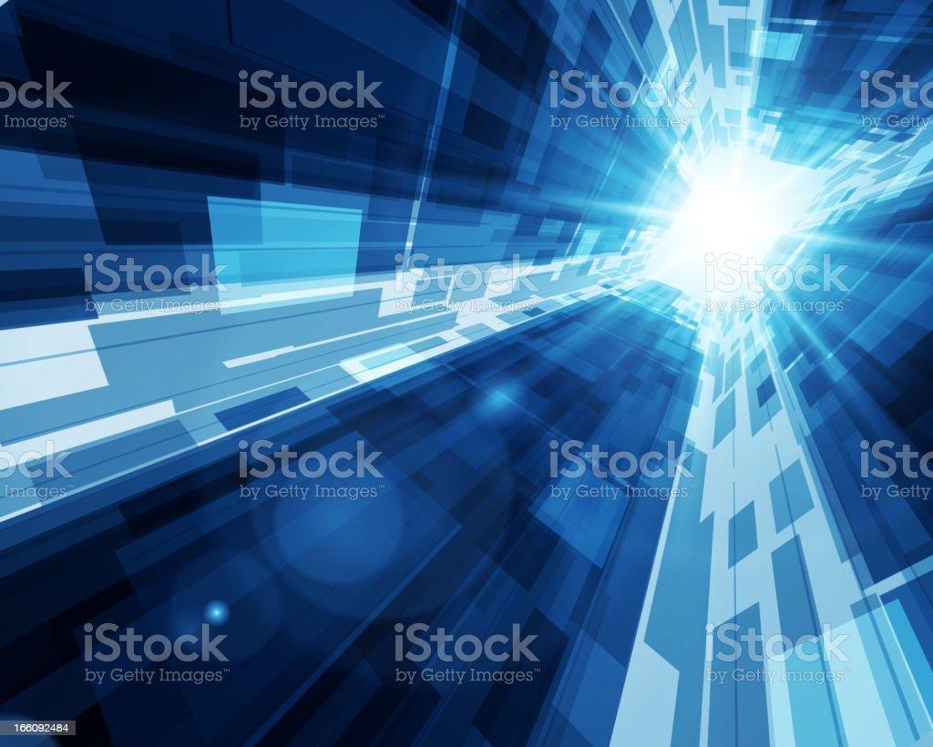 Virtual technology vector background vector art illustration