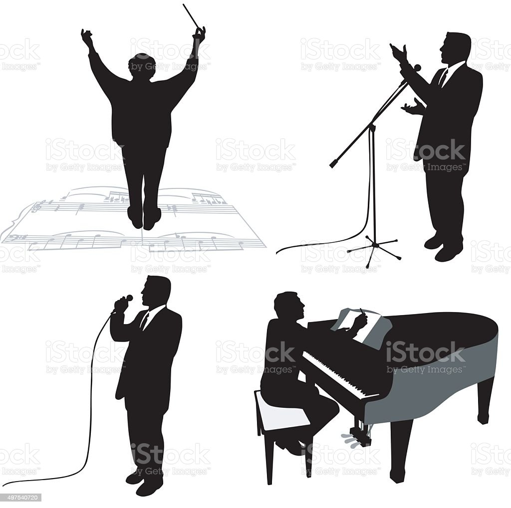 Virtuosos vector art illustration