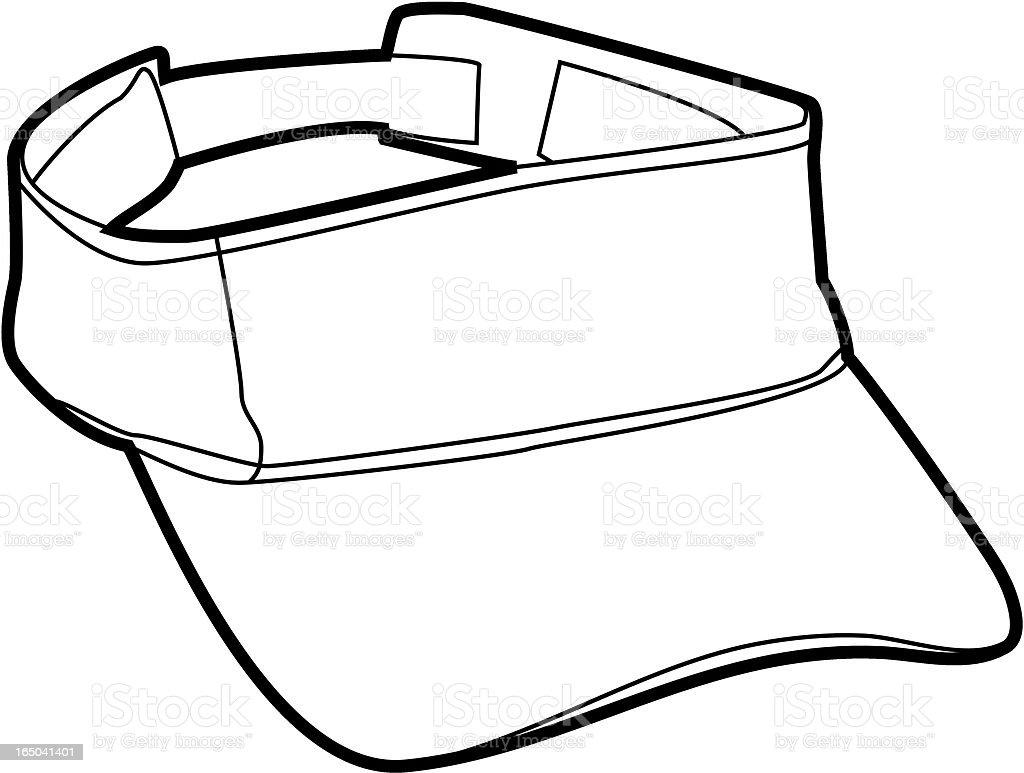 Visor Outline Stock Vector Art 165041401 Istock