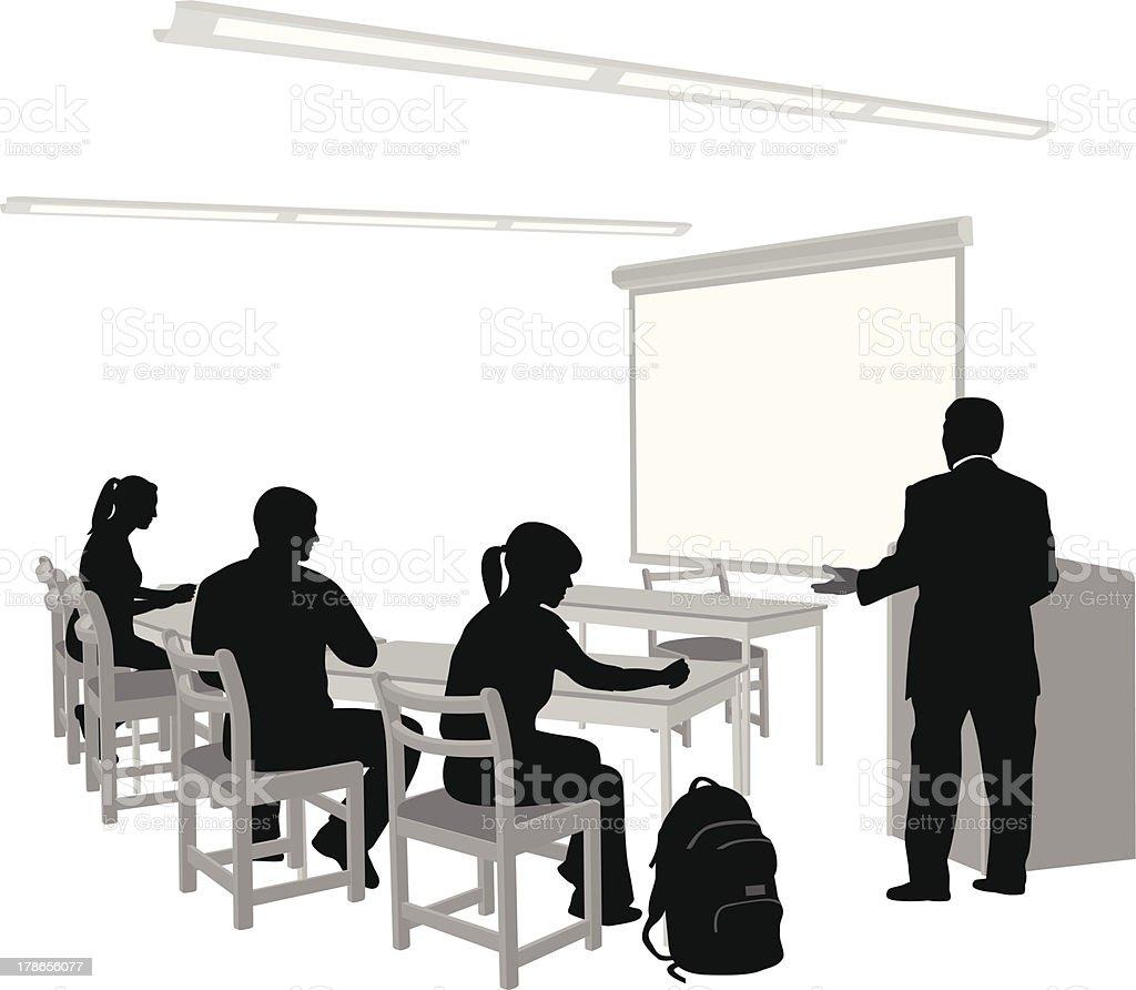 Visual Presentation royalty-free stock vector art