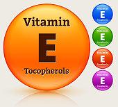Vitamin E Multi Colored Button Set