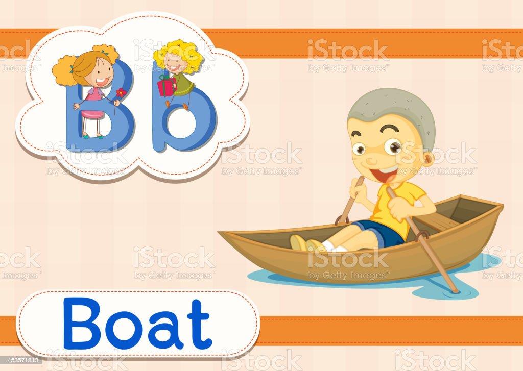 Vocabulary worksheet vector art illustration