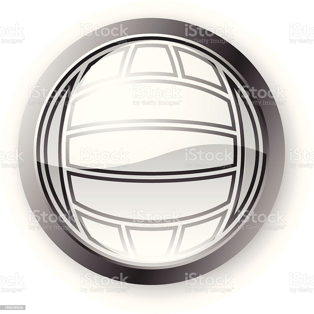 Volley Ball Icon royalty-free stock vector art
