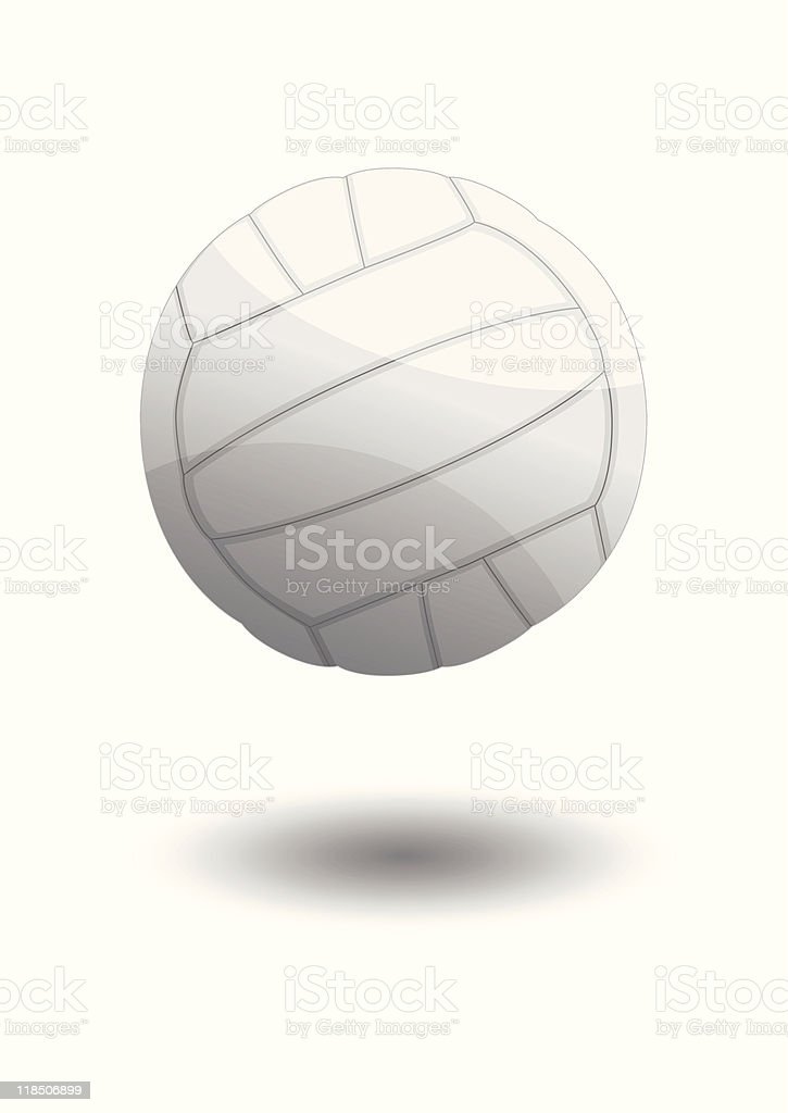 Volleyball vector illustration royalty-free stock vector art