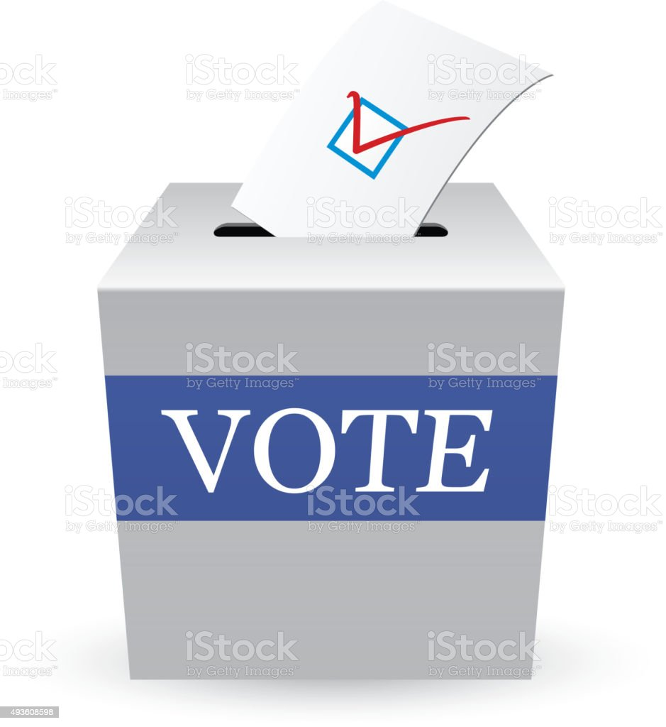 Vote vector art illustration