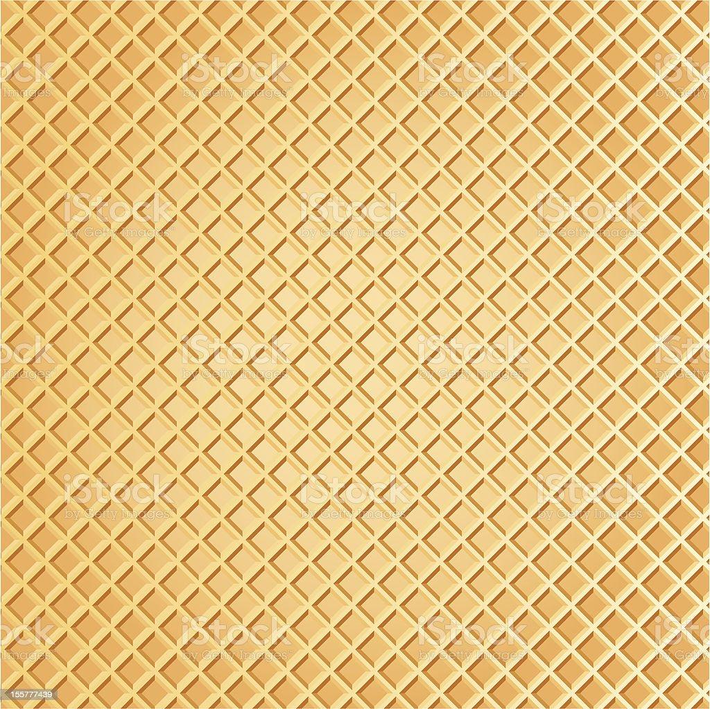 wafer background vector art illustration