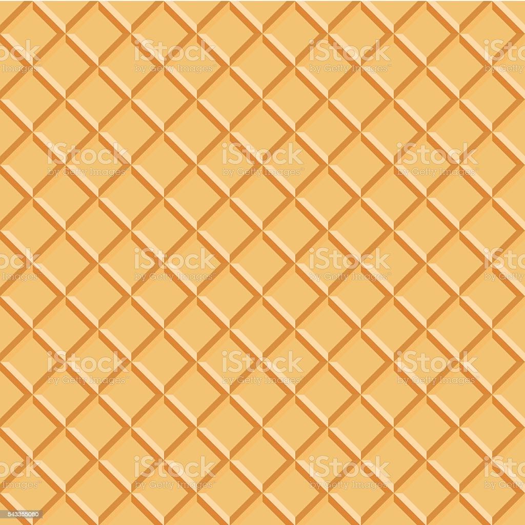 Wafer Pattern vector vector art illustration