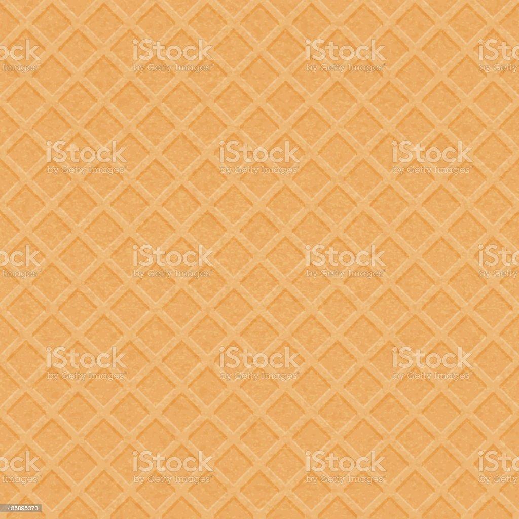 Waffle texture - vector background. vector art illustration