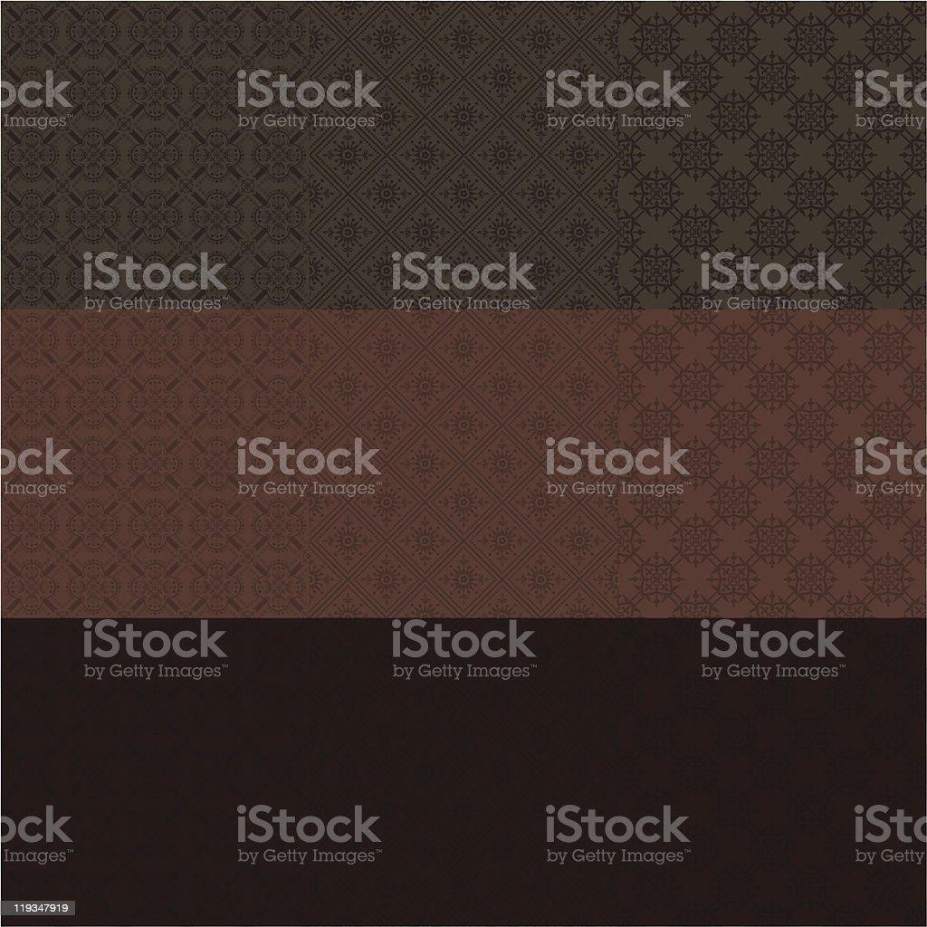 Waffled pattern vector art illustration