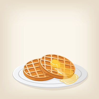 Waffle Clip Art, Vector Images & Illustrations - iStock