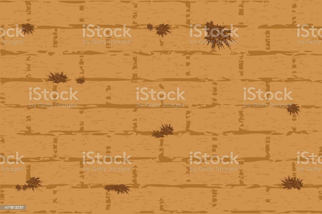 wailing wall royalty-free stock vector art