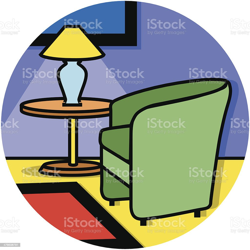 waiting room icon royalty-free stock vector art