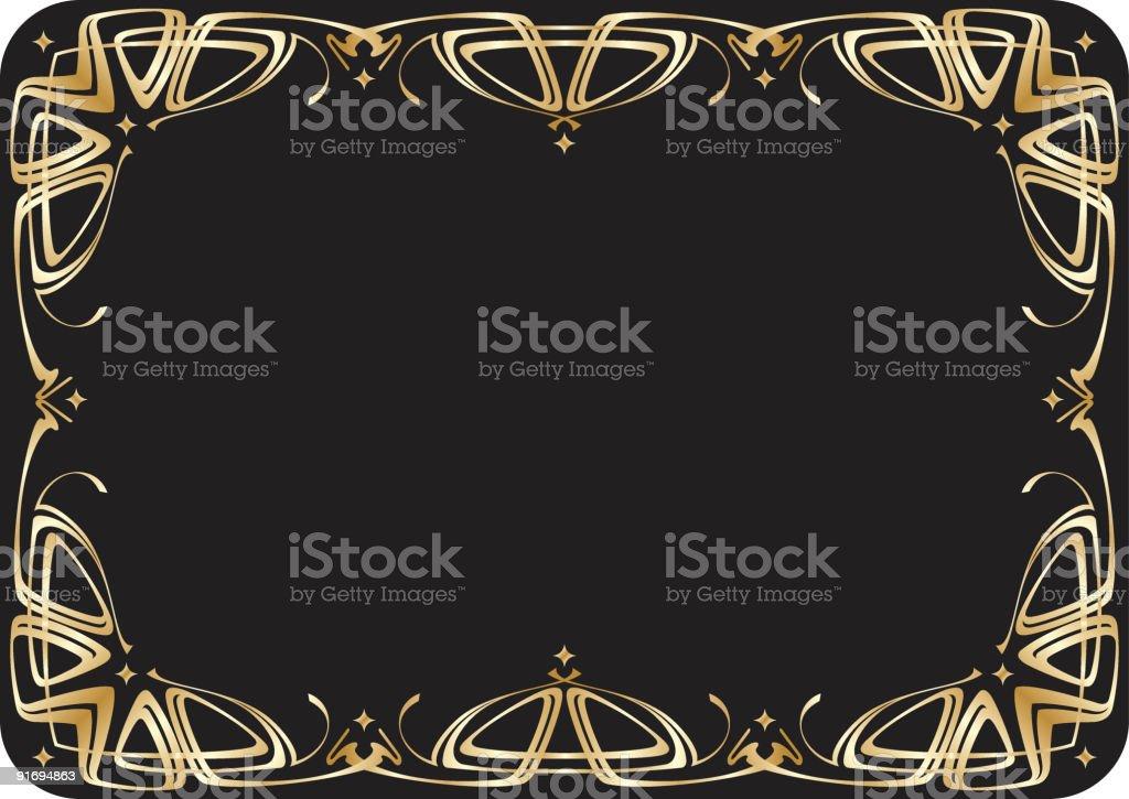 Moldura de propagar download vetor e ilustração royalty-free