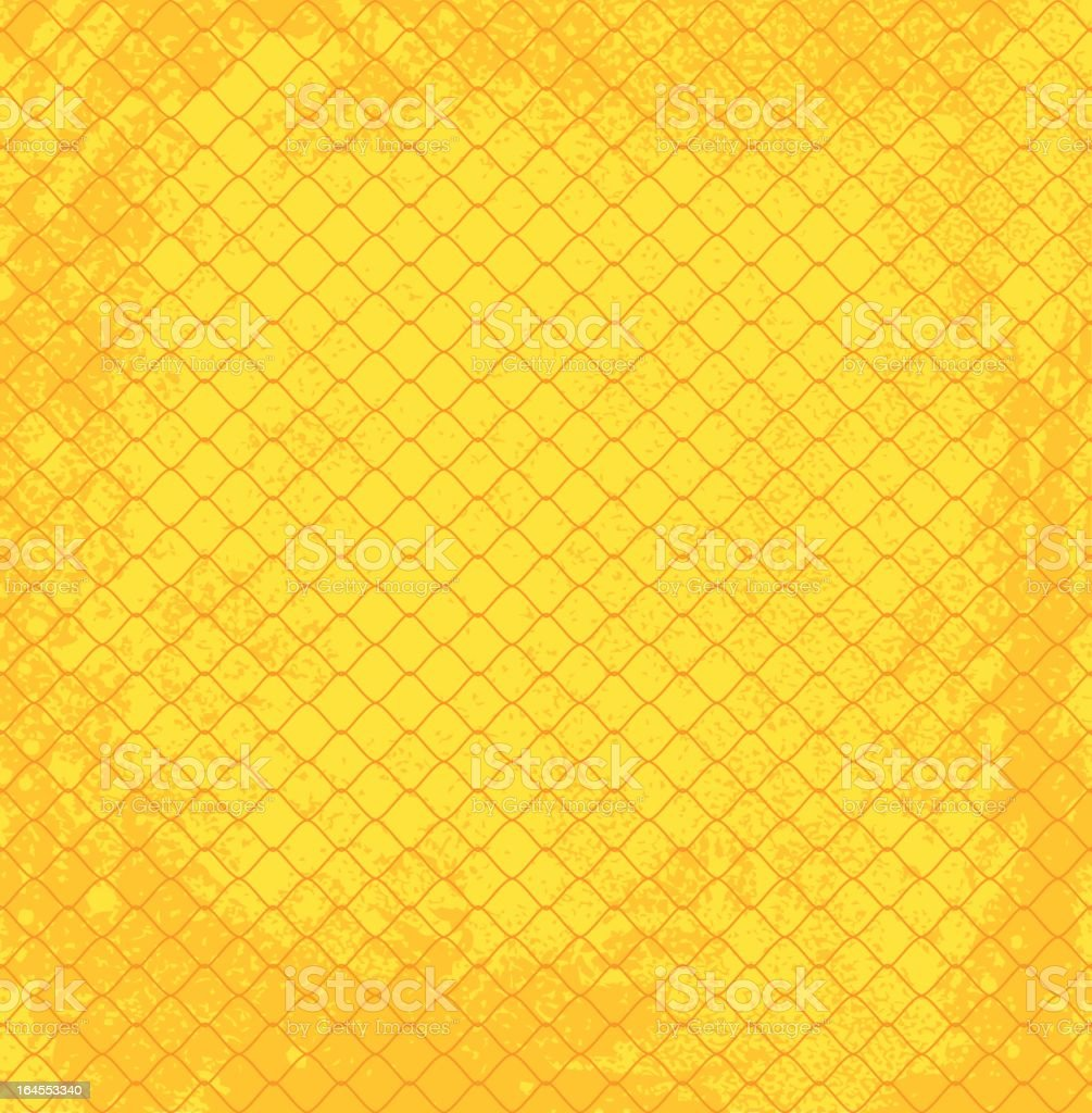 wall and wire netting royalty-free stock vector art