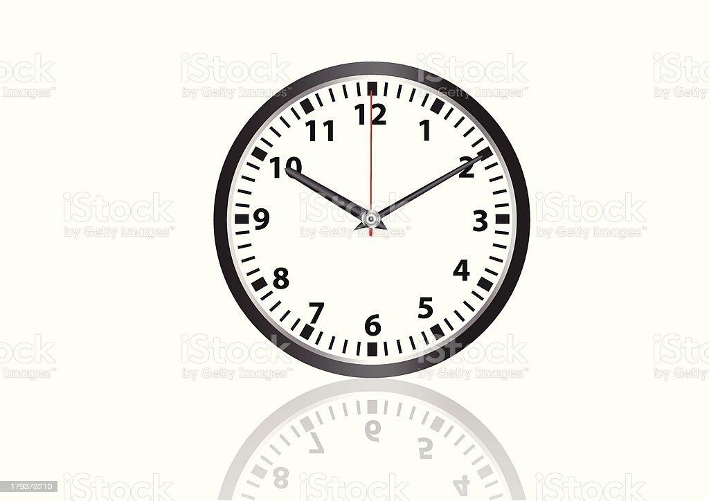 wall clock vector images royalty-free stock vector art