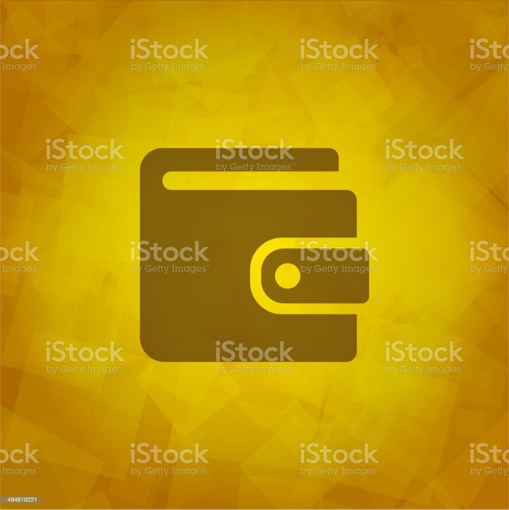 Wallet Icon royalty-free stock vector art