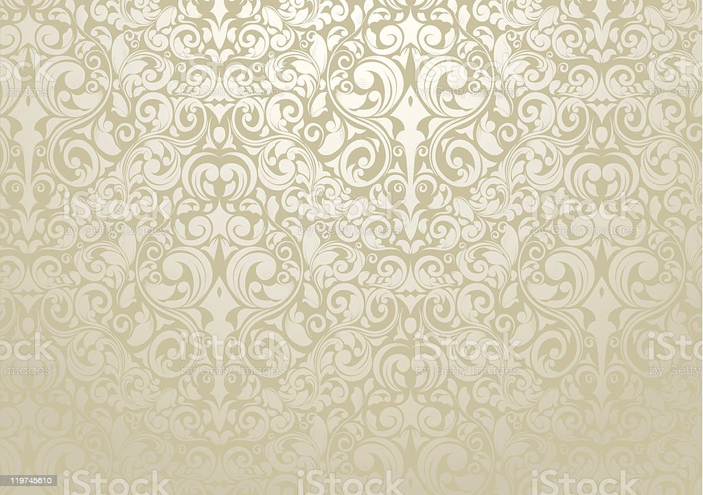 Wallpaper Design vector art illustration