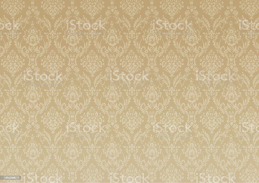 Wallpaper Gold - Vector royalty-free stock vector art