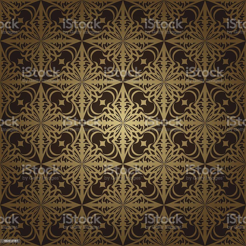 Wallpaper pattern dark royalty-free stock vector art