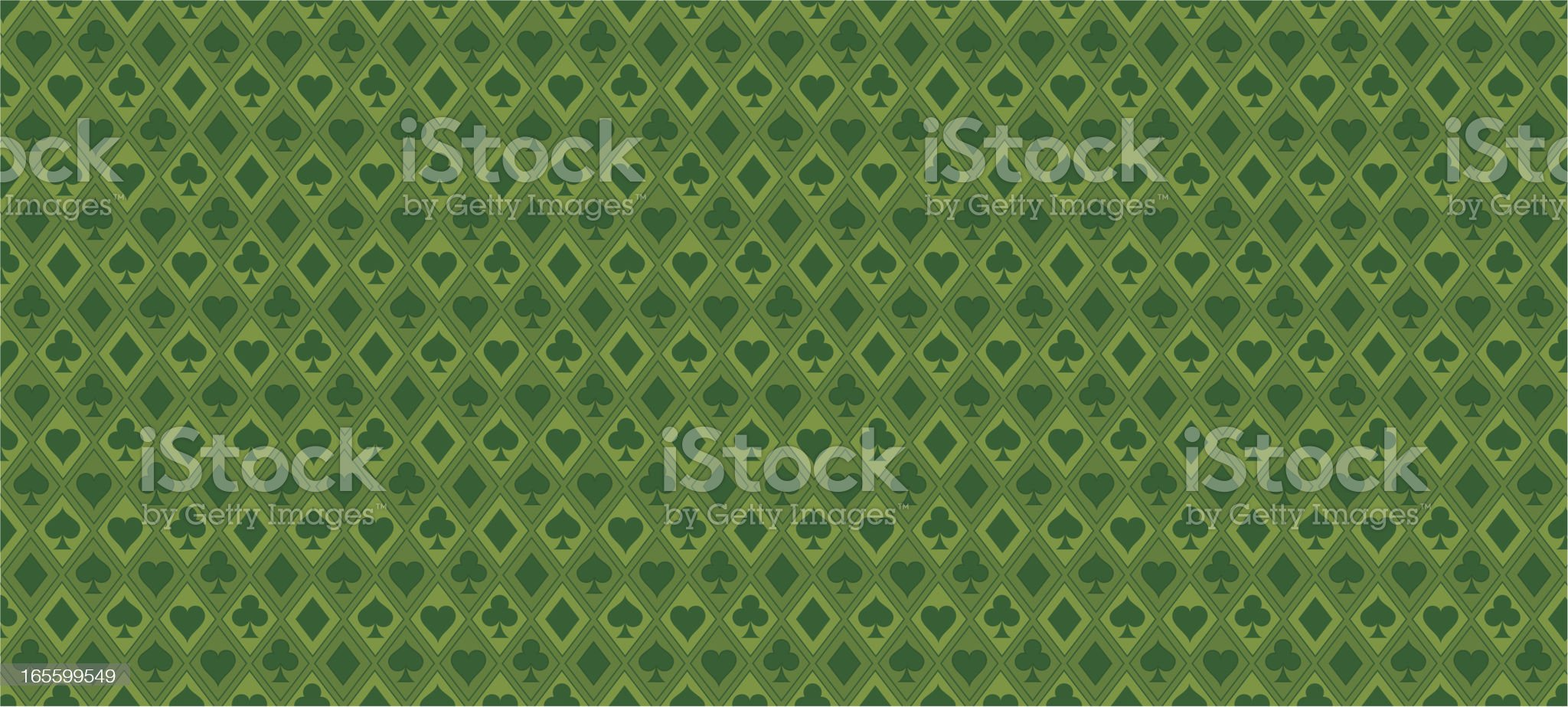 Wallpaper - Poker royalty-free stock vector art