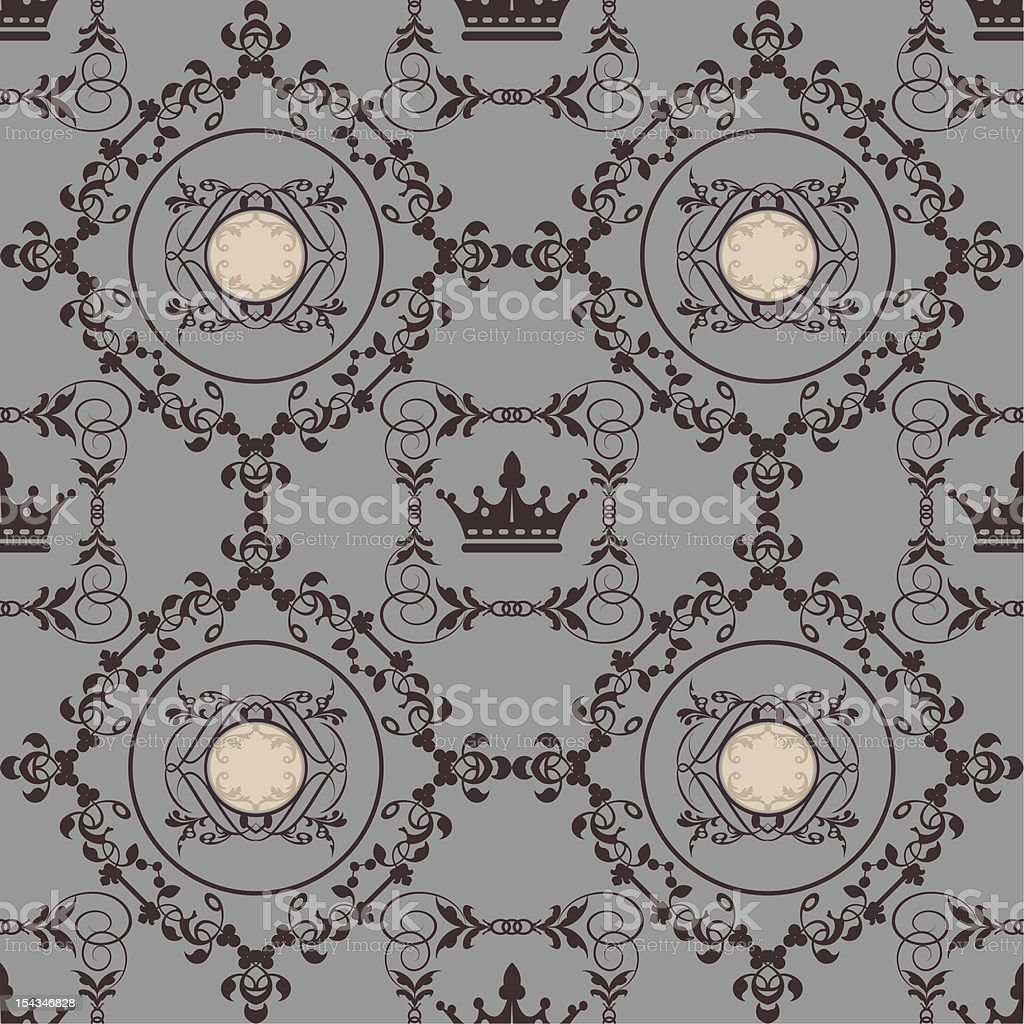 wallpaper seamless pattern royalty-free stock vector art