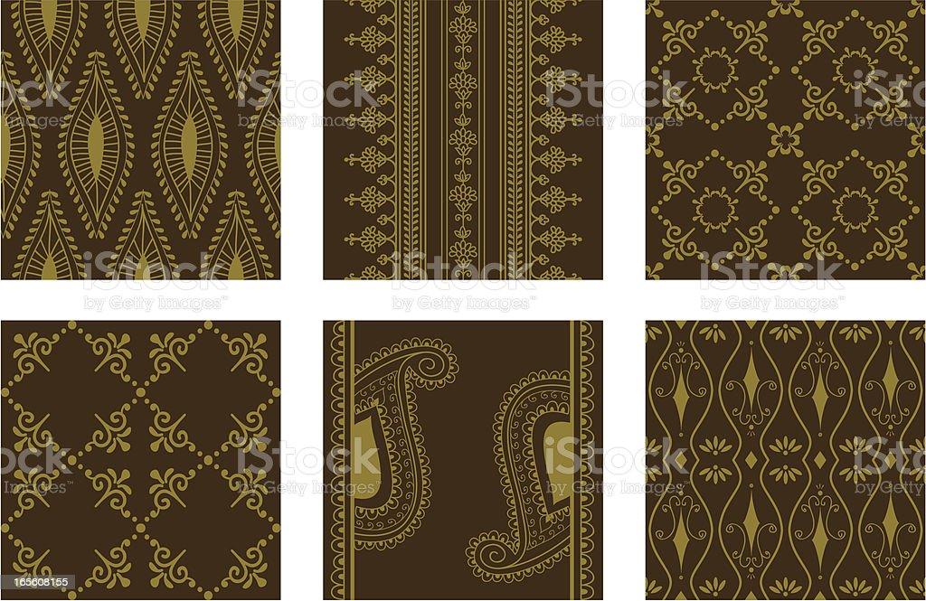 Wallpaper Tiles royalty-free stock vector art