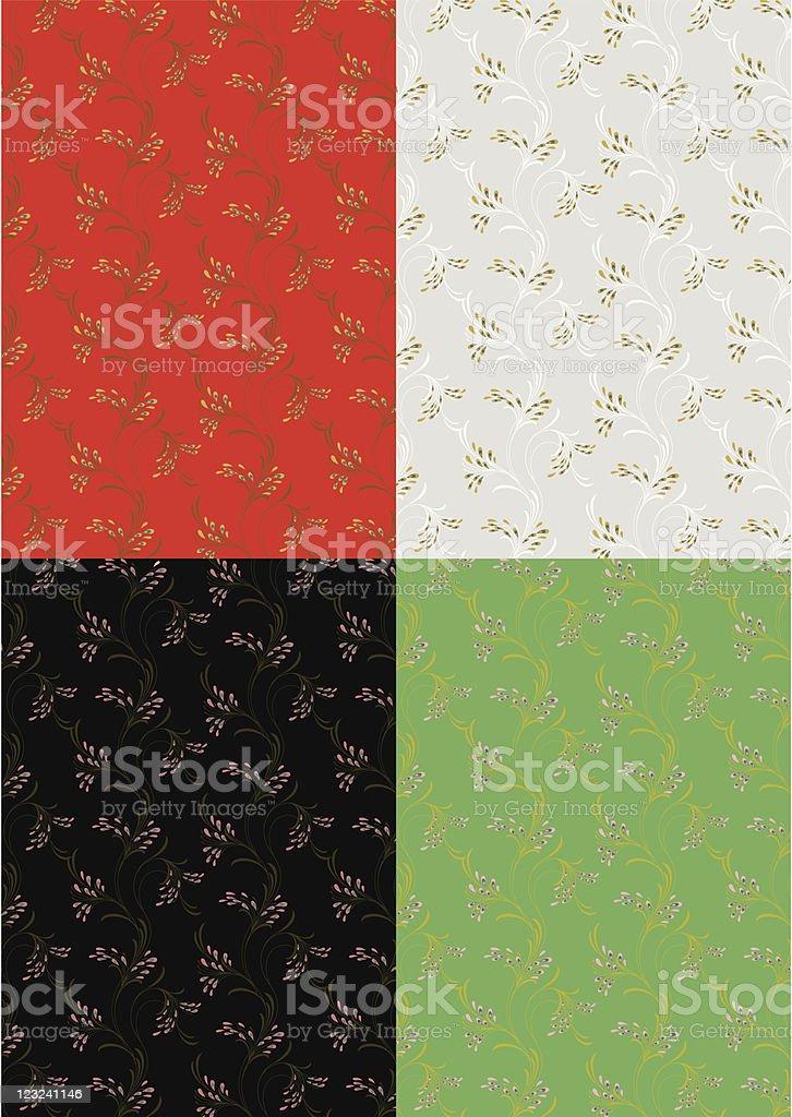 Wallpaper royalty-free stock vector art