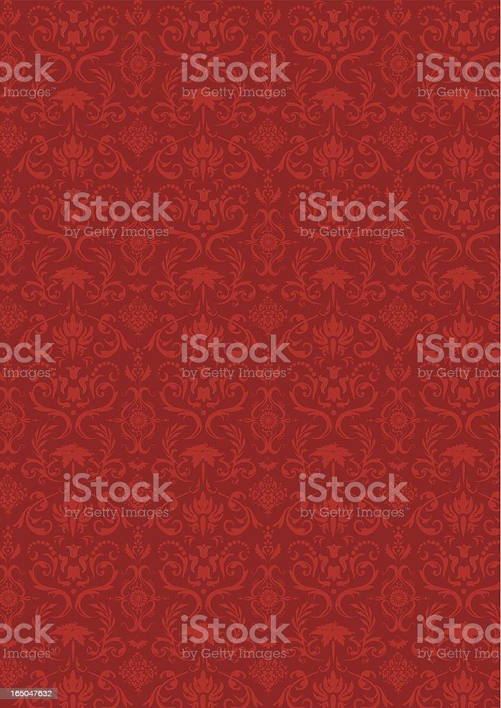 Wallpaper Wine - Vector vector art illustration