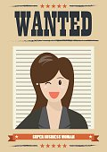 Wanted business woman