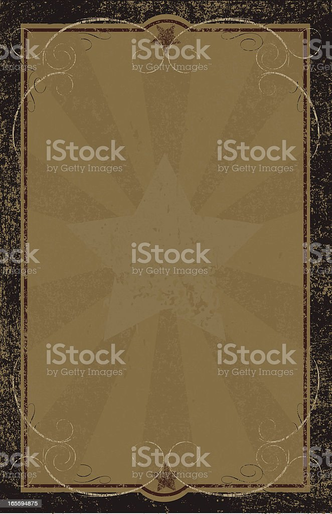 Wanted Poster vector art illustration
