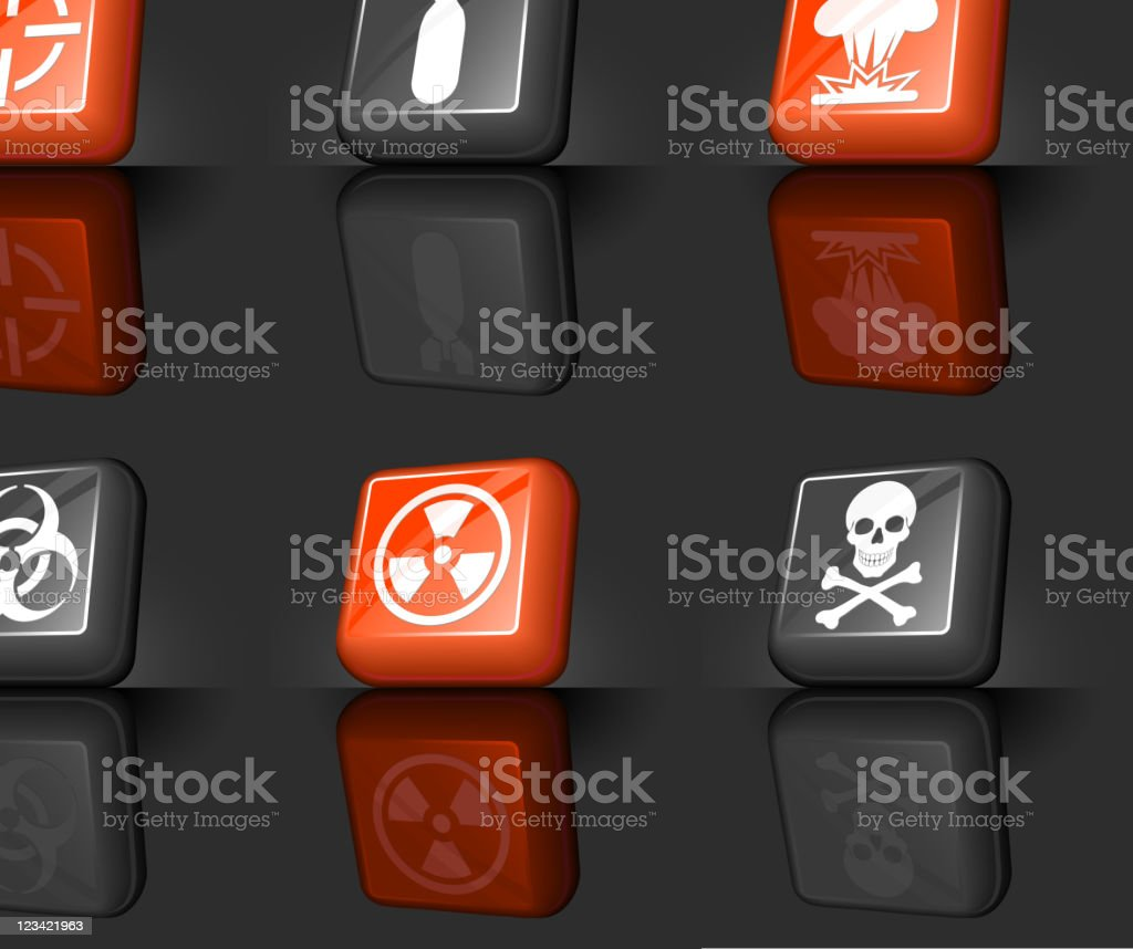war internet royalty free vector icon set royalty-free stock vector art