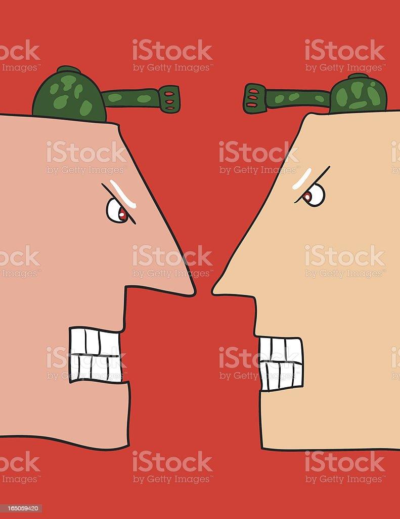 war royalty-free stock vector art