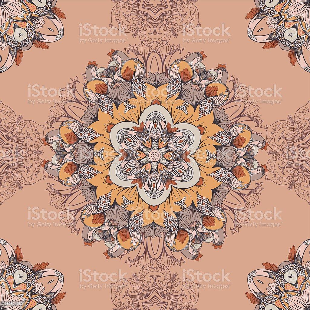Warm twilight royalty-free stock vector art
