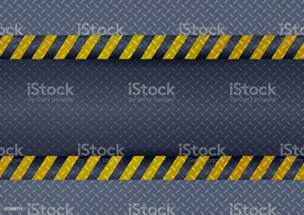 Warning Sign royalty-free stock vector art