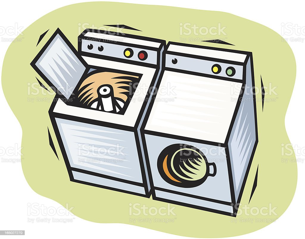 Washer And Dryer Clipart dryer clip art, vector images & illustrations - istock