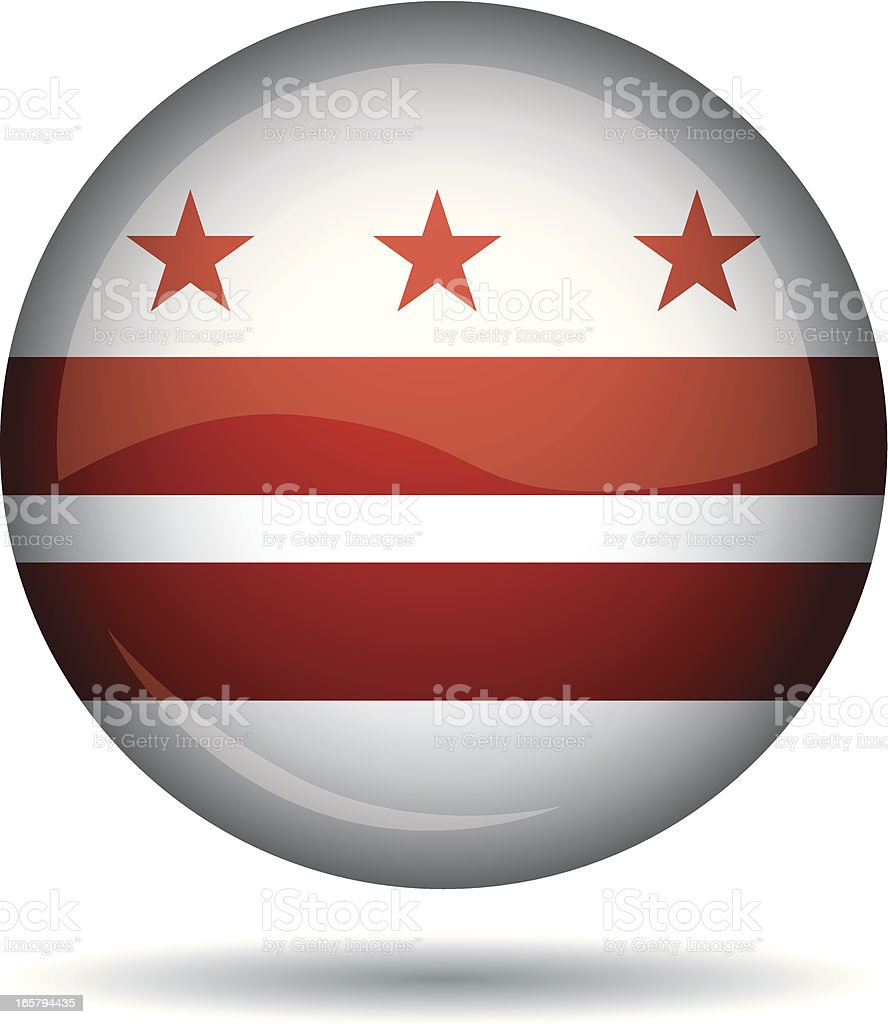 Washington flag royalty-free stock vector art