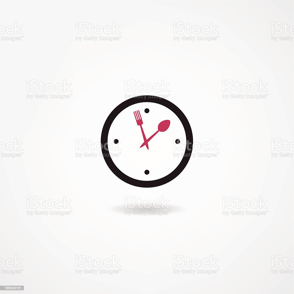 watch icon royalty-free stock vector art