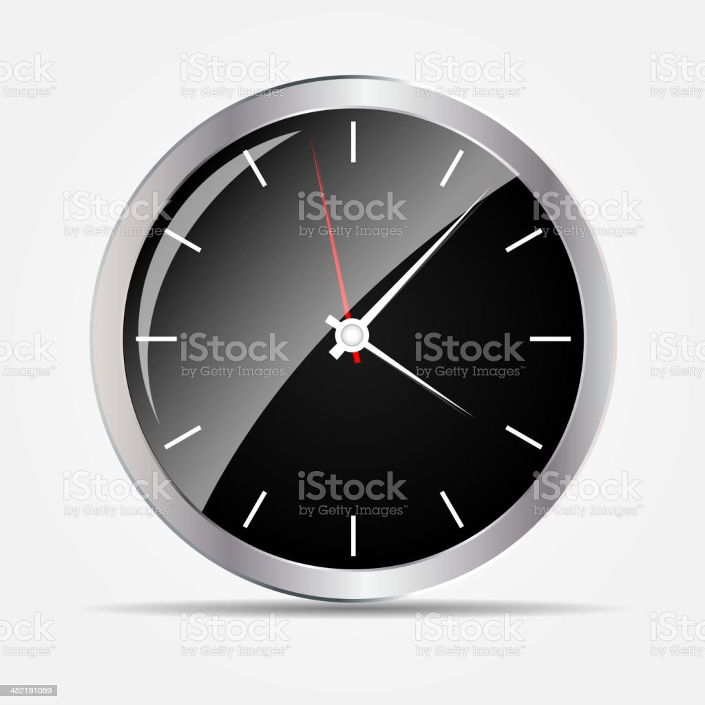 watch icon vector illustration royalty-free stock vector art
