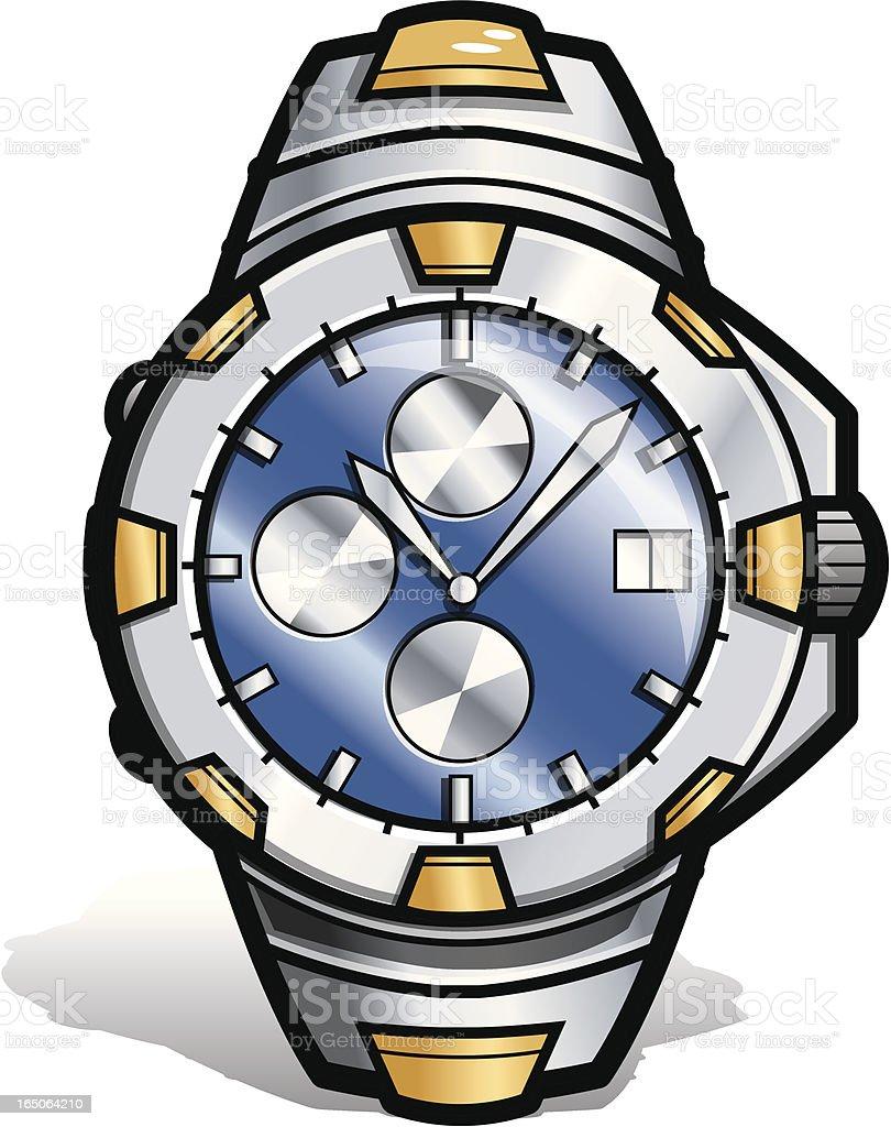 Watch royalty-free stock vector art