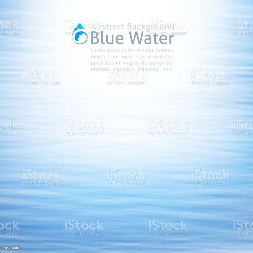 water background vector art illustration