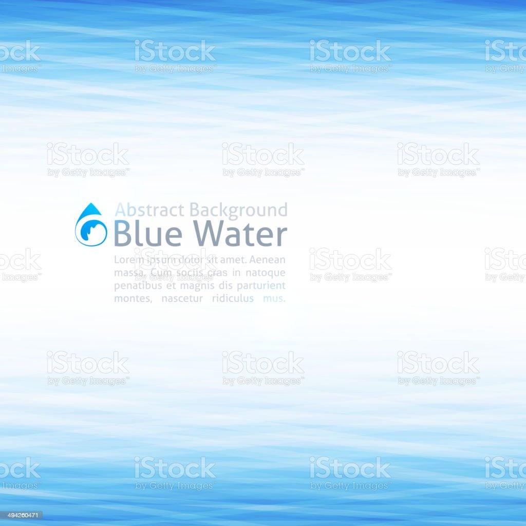 water background vector art illustration