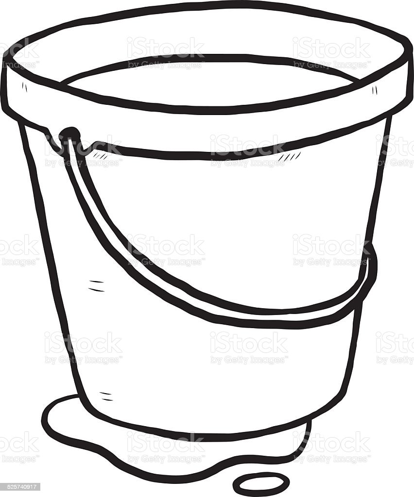 Bucket Clip Art Vector Images Illustrations Istock