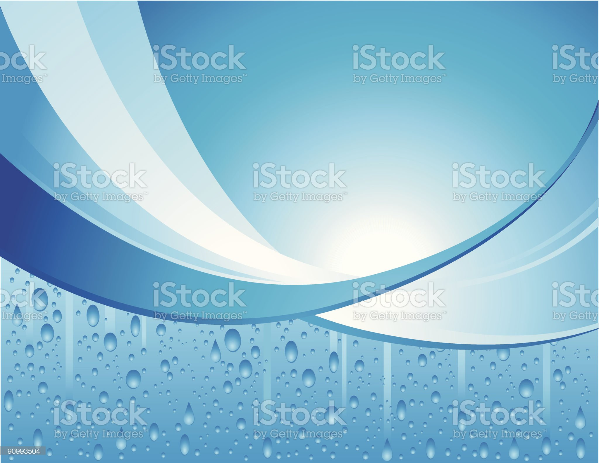 Water Condensation Background royalty-free stock vector art